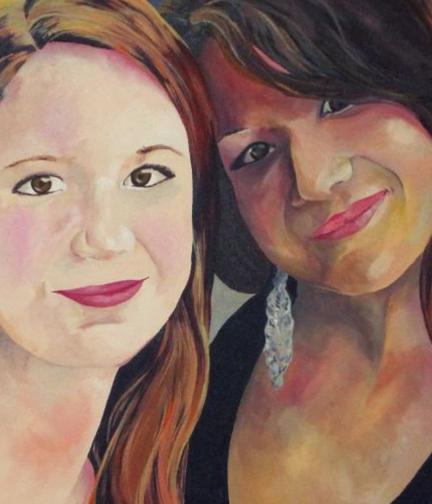 Portrait: Sisters