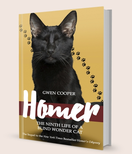 Gwen Cooper: Homer: The Ninth Life of a Blind Wonder Cat