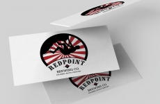 Logo Design: Redpoint Brewing Company
