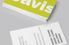 Business Card Design: Bek Davis