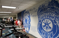 Mural: Burbank Police Department
