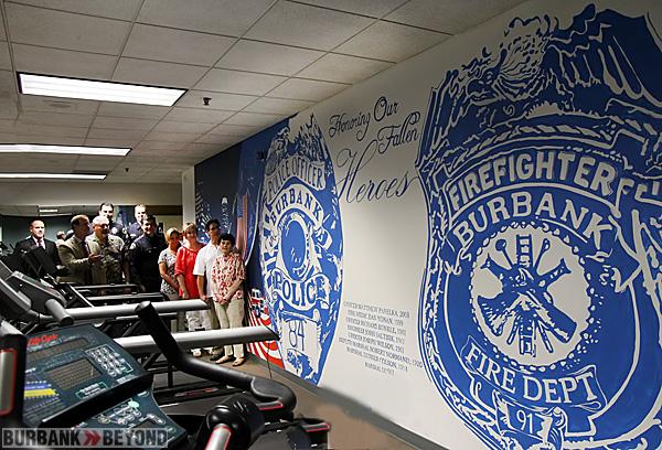 Mural Burbank Police Department Jessica Rodrigue Designs