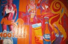Mural: Hooters